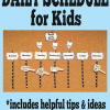 Daily Schedule Idea for Kids