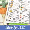 Fall Scavenger Hunt Ideas