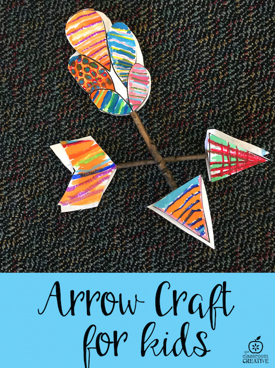 arrow craft for kids