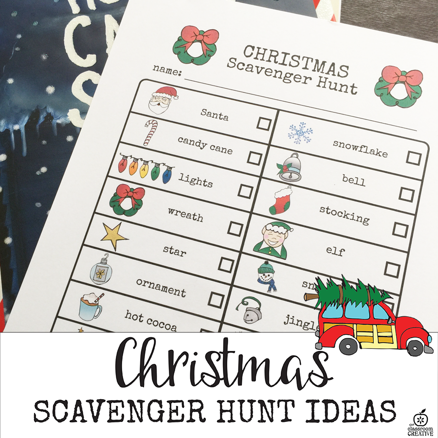 Christmas Scavenger Hunt Ideas
