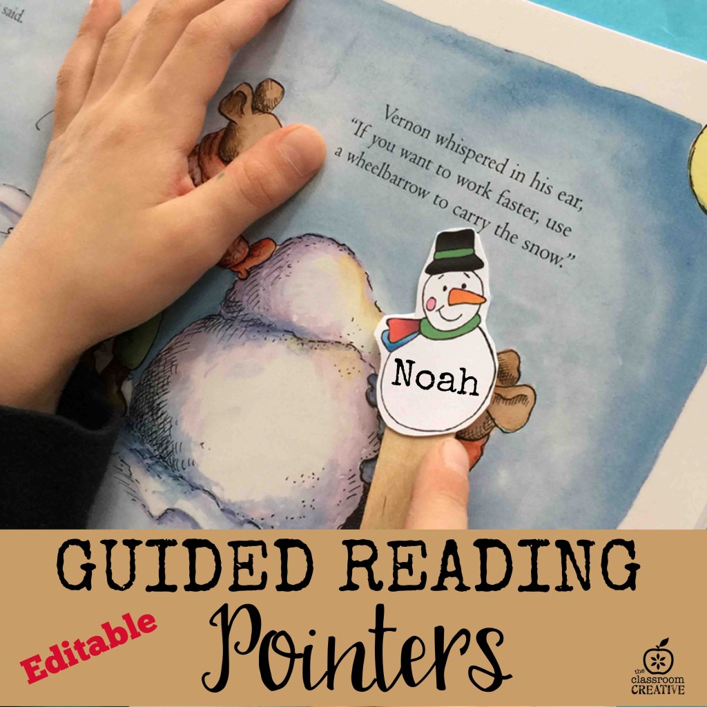 guided reading pointers editable