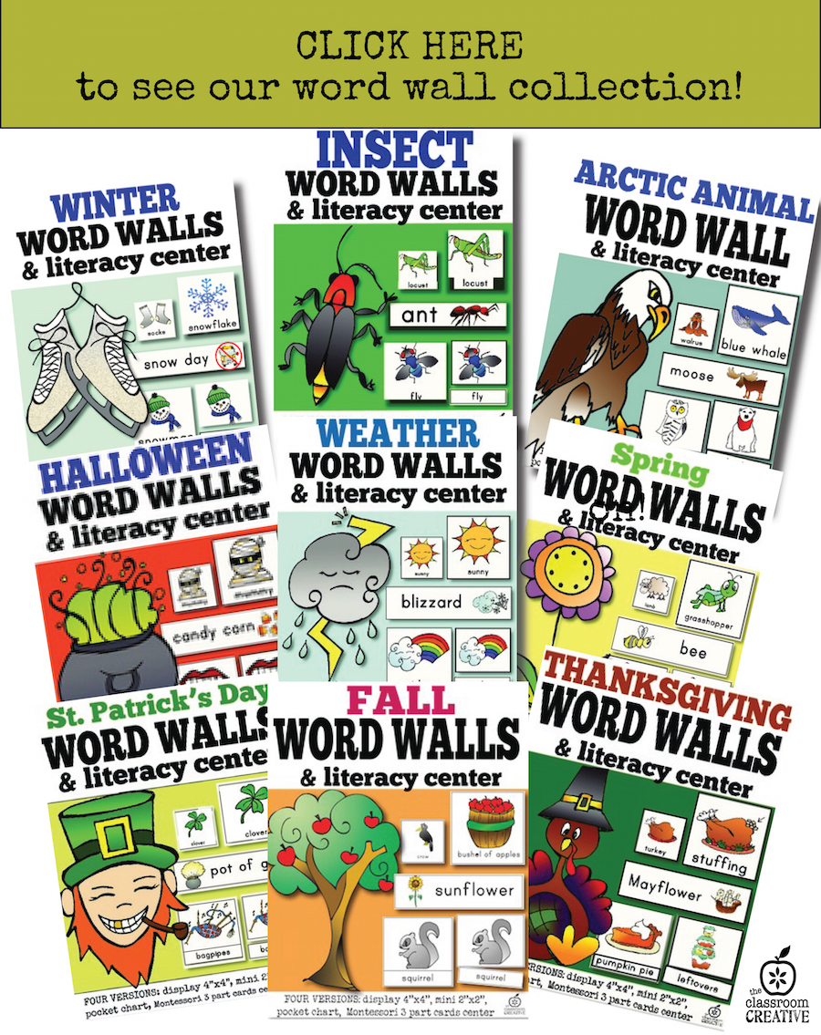word walls for teachers and homeschoolers the classroom creative
