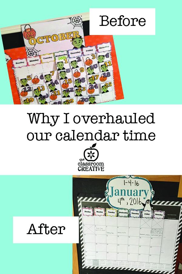 overhauling calendar time