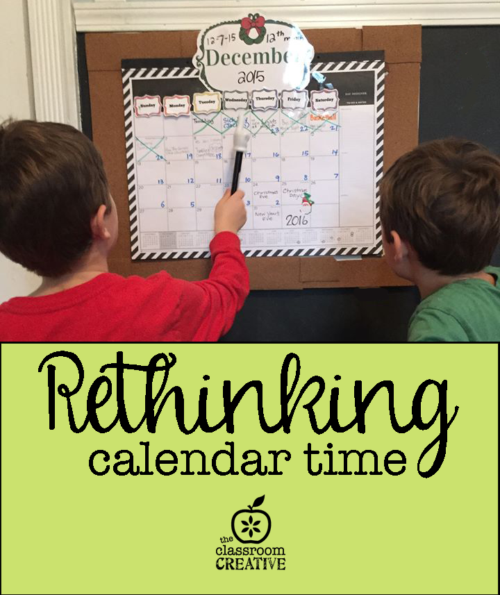 Rethinking Calendar Time/Morning Meeting for the Primary Grades