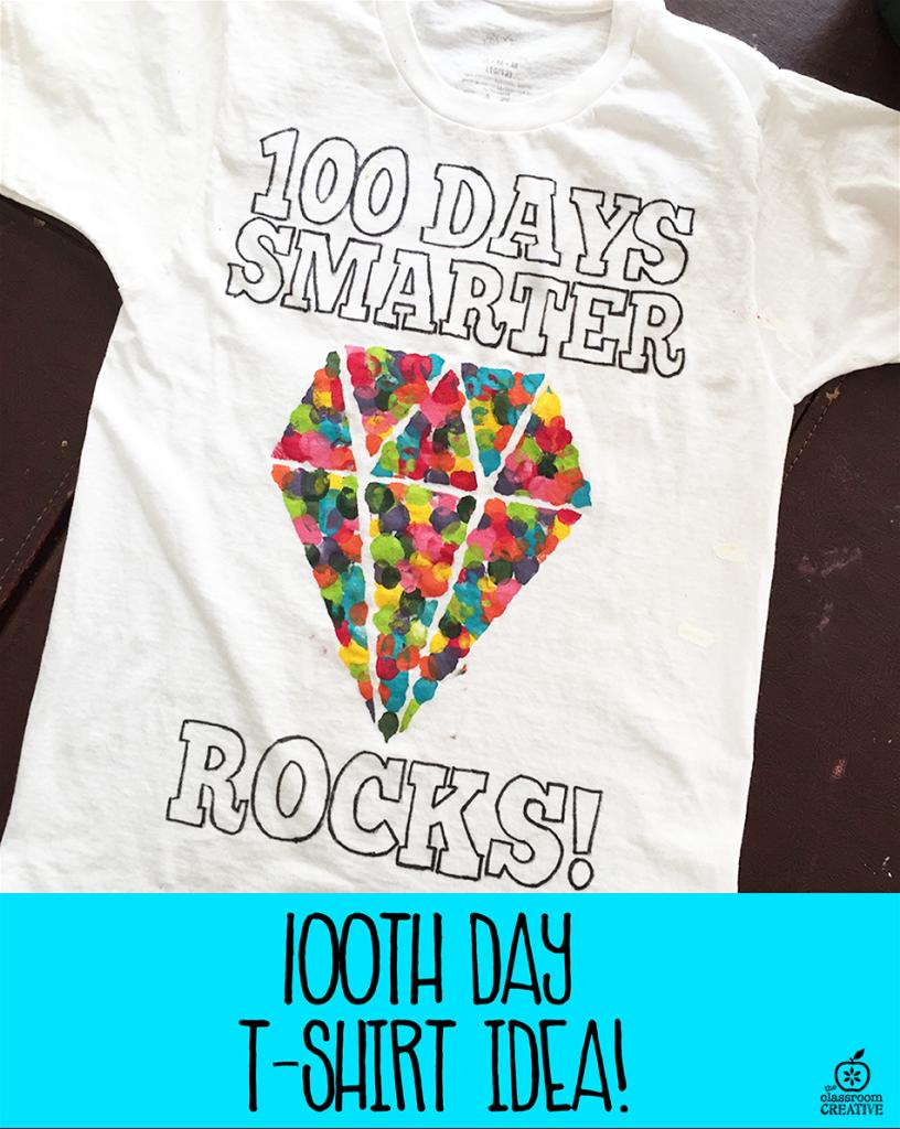 100th day t-shirt idea