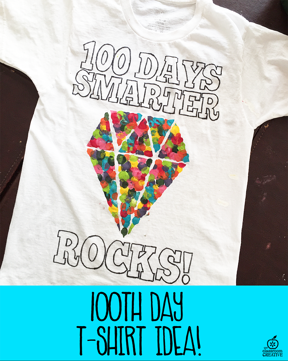 100th Day of School  T-Shirt Idea