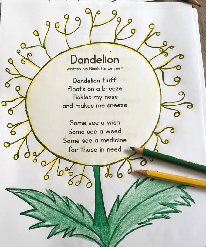 spring poem of the week for kids
