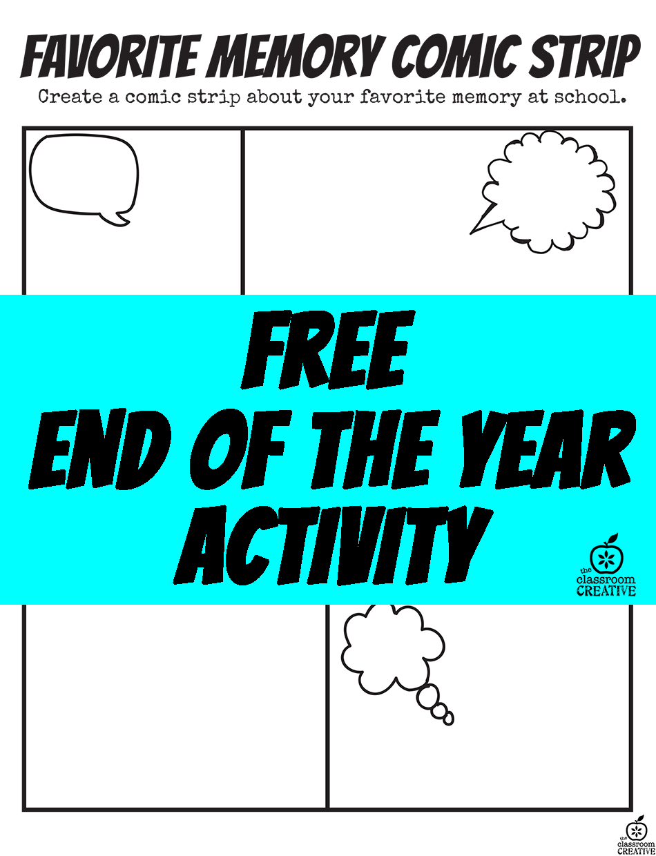 End of the School Year Superhero Activity