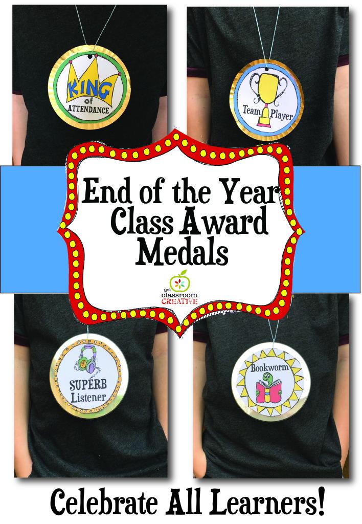 end of the year awards, end of the year award medals