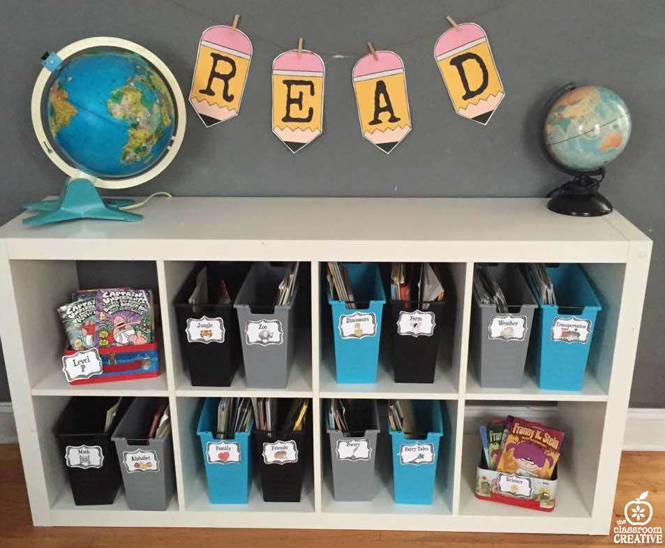 classroom library homeschool library organization