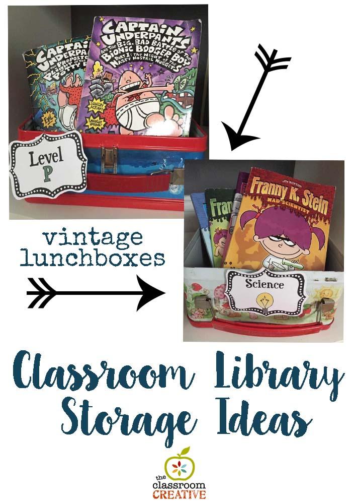 classroom library organization idea