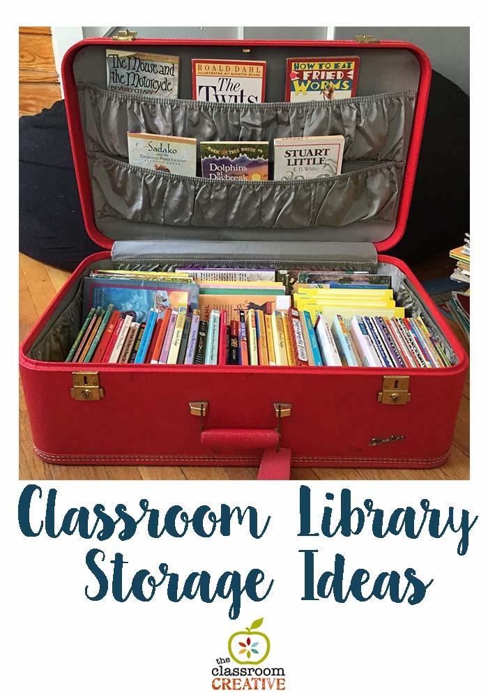 classroom library storage ideas