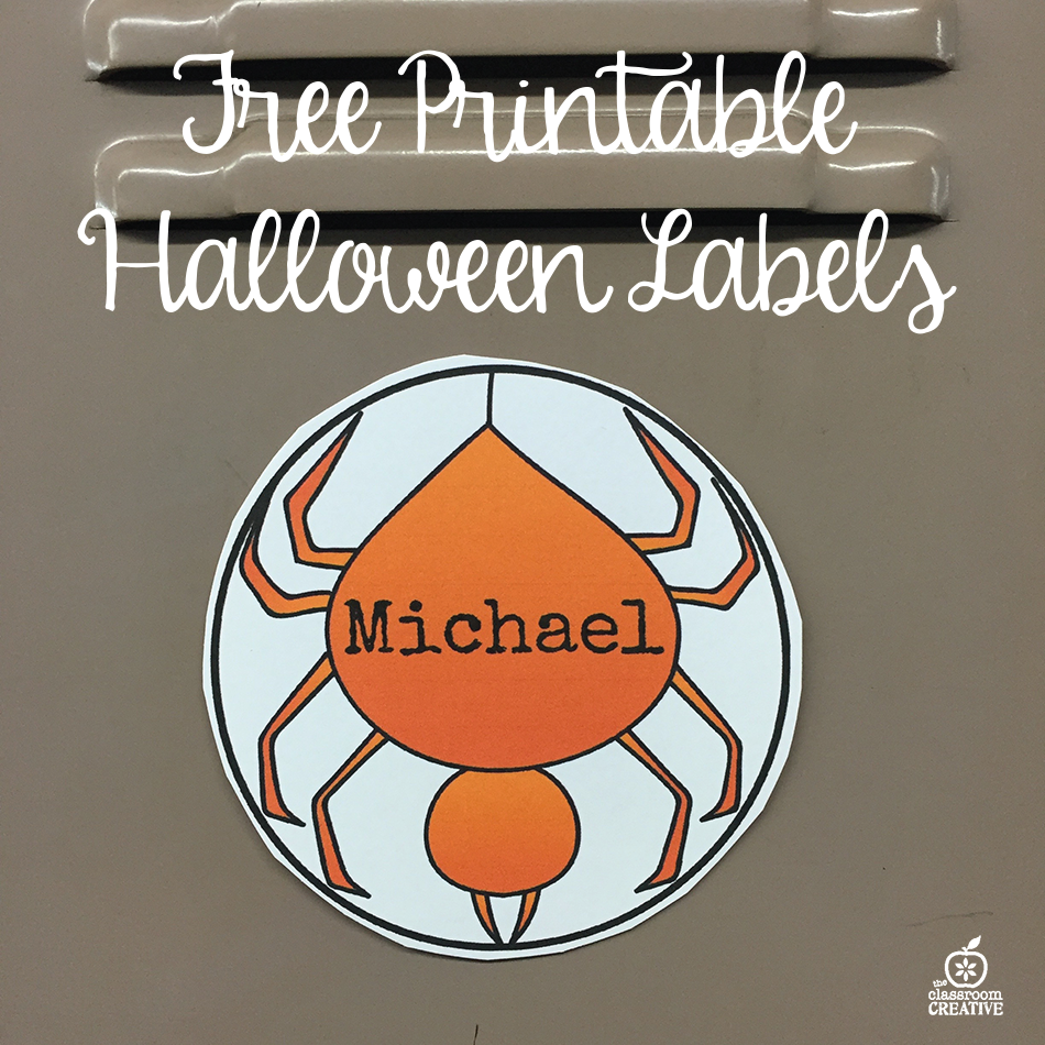 Free Printable Halloween Labels