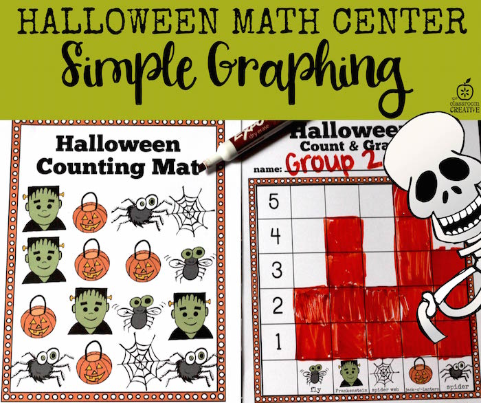 halloween-math-center-simple-graphing