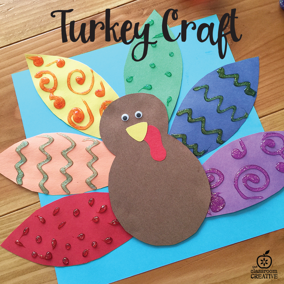turkey craft for thanksgiving