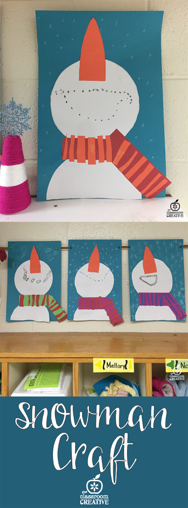 looking up snowman craft